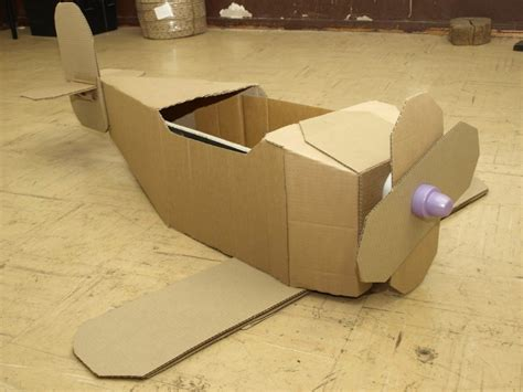 langkah langkah membuat mobil mainan dari kardus membuat pesawat mainan mainan toys