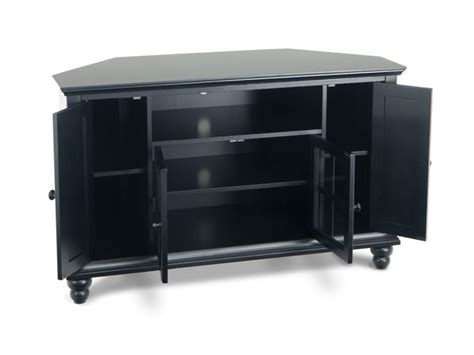Bobs Furniture Tv Stands by Heritage Corner Console Tv Stands Entertainment Bob S Discount Furniture