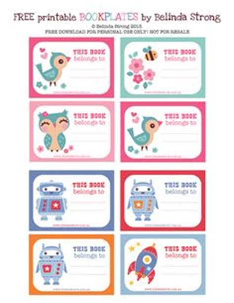 printable book stickers printables stickers and free printable on pinterest