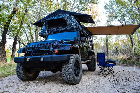 jeep wrangler awning smitybuilt awning vagabond expedition