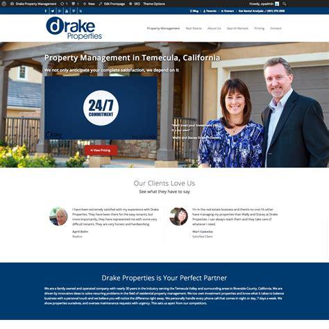 Design Management Website | property management website features
