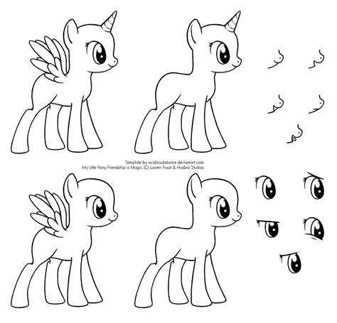 mlp hair template www imgkid com the image kid has it
