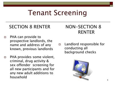 landlord section 8 application ppt section 8 housing choice voucher program landlord