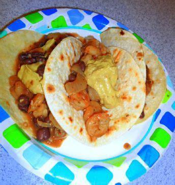 protein 1 2 cup black beans shrimp black bean tacos 1 2 cup recipe sparkrecipes
