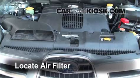 how do cars engines work 2006 subaru tribeca electronic valve timing 2006 2014 subaru b9 tribeca engine air filter check 2006 subaru b9 tribeca 3 0l 6 cyl