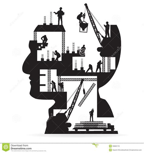 royalty free building contractor clip art vector images vector building under construction with workers in royalty