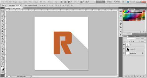 tutorial photoshop mudah tutorial photoshop long shadow di photoshop mudah gan