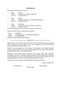 contoh surat kuasa ahli waris untuk membagi harta