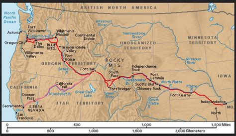 the oregon trail map 27 best california gold images on gold
