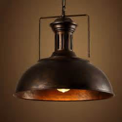 Retro Pendant Lighting Edison Vintage Industrial L Shade Chain Pendant Light Retro Loft Iron Lighting Fixtures For