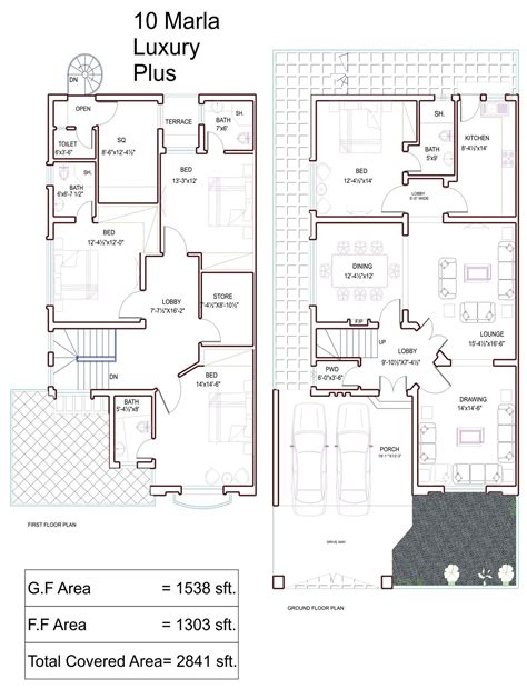 house designs floor plans pakistan 10 marla house plans civil engineers pk