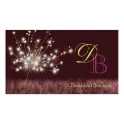 business cards unique twilight dandelion unique monogram business cards zazzle