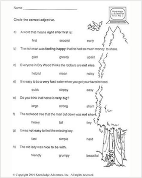 printable english worksheets for 9 year olds reading worksheet for 5 year old free preschool