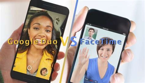 facetime with android duo vs apple facetime how s the new facetime on android