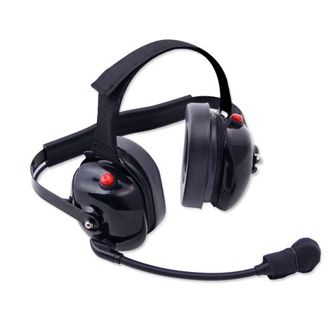 rugged radio headsets h60 dual radio headset with dual ptt h60 blk 179 00