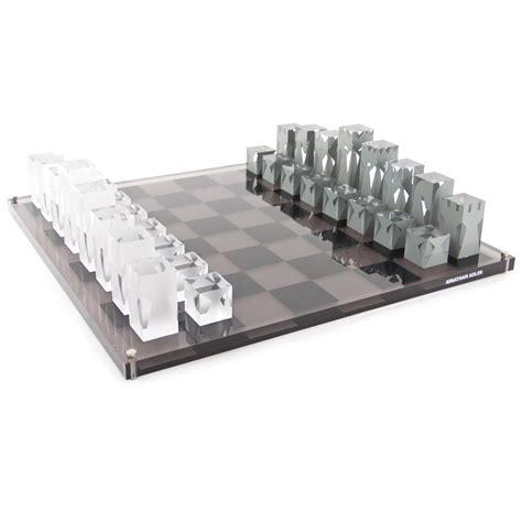 Home Decor Pottery modern retro games amp luxury gifts chess set jonathan adler