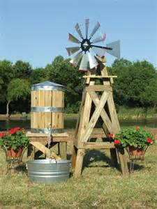 Decorative Backyard Windmill Small Decorative Water Tower Tank With Stand Davids E