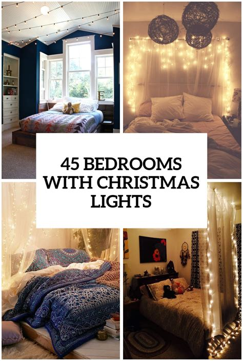 lights in a bedroom 45 ideas to hang lights in a bedroom shelterness