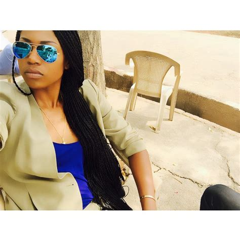 yvonne nelson s hairstyles at the back yvonne nelson shows off her new braids hairstyle in new