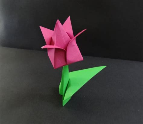 Revealed Flower Origami - 164 best origami images on papercraft paper
