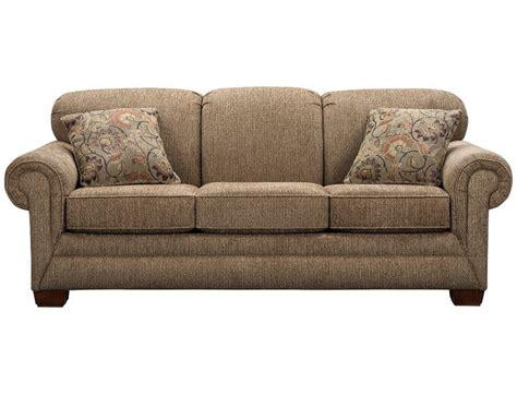 slumberland couch slumberland tenor collection brown sofa double wide