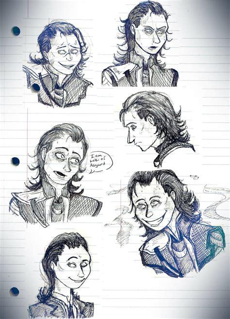 doodle envy loki pen doodles by pirate envy on deviantart