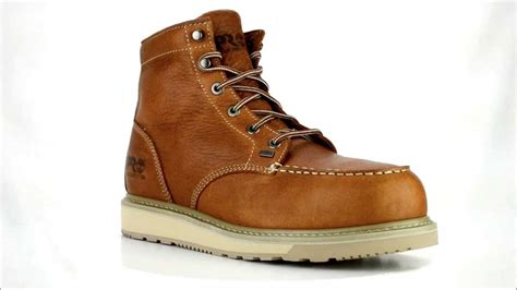 s timberland 88559 alloy toe wedge sole work boot
