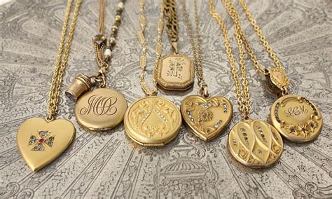 The Secret Life of Antiques: A History of Lockets