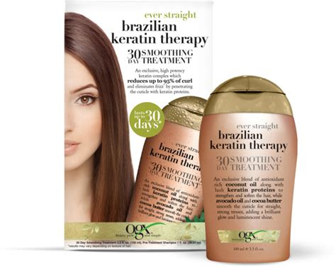 ogx keratin therapy 30 day smoothing treatment