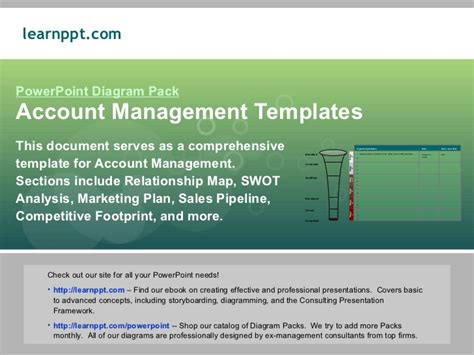 account management templates account management template
