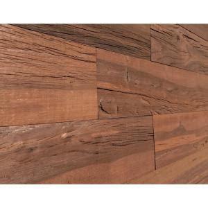 1 4 in x 5 in x 2 ft brown reclaimed easy paneling 3d