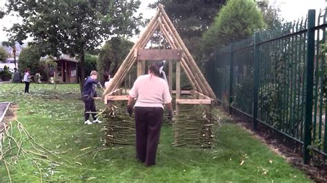 how long to build a house viking longhouse build youtube