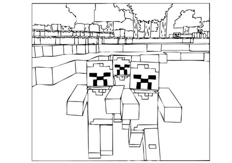 minecraft halloween coloring page 258 best coloring pages images on pinterest coloring