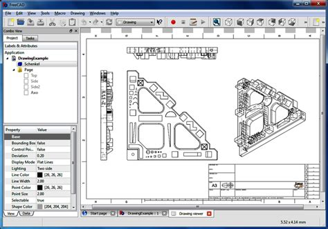 line drawing software free freecad 0 16 6704 design illustration downloads