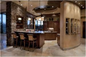 Stone Kitchen Ideas 15 Inspiring Warm And Cozy Kitchen Designs