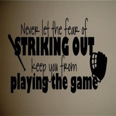 softball wall stickers softball wall quotes quotesgram