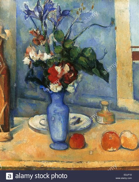 Paul Cezanne The Blue Vase by Paul Cezanne 1839 1906 Painter Post