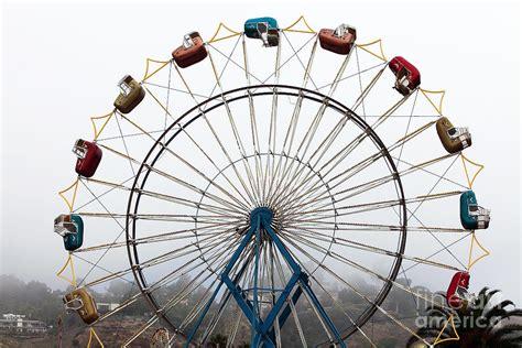 ferris wheel seats photograph by rizzuto