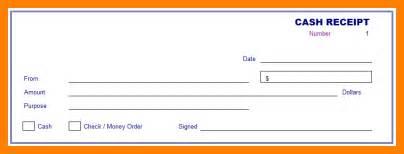 8 money receipt design samples teller resume