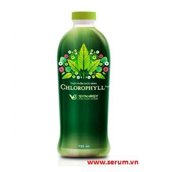 Synergy Chlorophyill Plus t 225 c d盻 ng c盻ァa rau xanh v盻嬖 con ng豌盻拱 serum