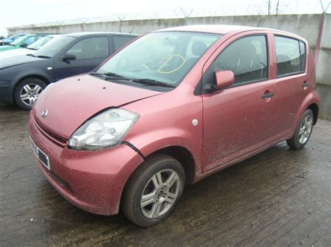 daihatsu sirion breakers sirion breaking for spare parts