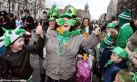 st s day in ireland today when is st s day 2018 all you need to daily mail
