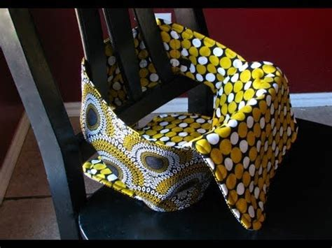 pattern for fabric travel high chair anywhere chair fabric highchair tutorial youtube