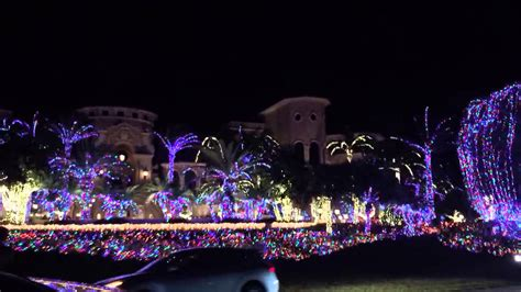 jensen beach fl mansion christmas lights youtube