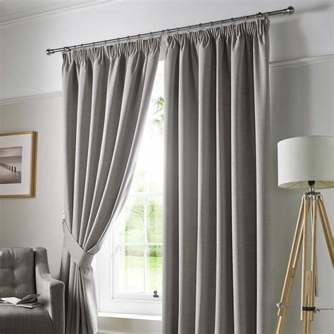grey ready made curtains uk pencil pleat blackout ready made curtains pair fully lined