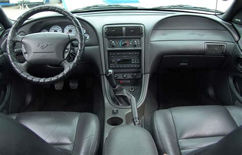 Mustang 2002 Interior by 2002 Ford Mustang Leather Seats