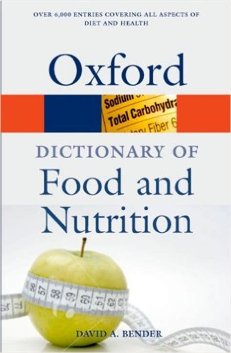 food dictionary dictionary of food and nutrition paperback gustro limited