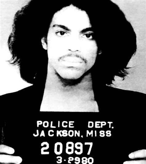 Guitar Duvet Cover Prince Mugshot Photograph By Unknown