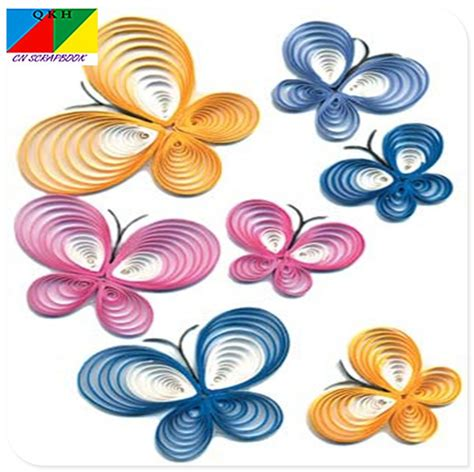 How To Make Quilling Paper Strips - wholesale color quilling paper quilling paper strips