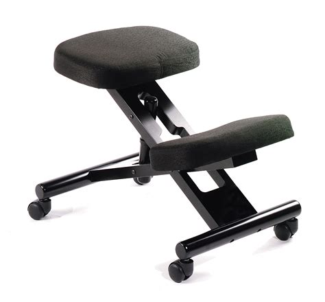Ergonomic Stool Chair by B248 Ergonomic Kneeling Chair With Black Steel